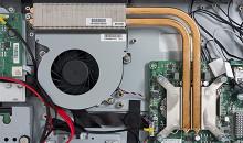 Ремонт/восстановление системы охлаждения моноблока