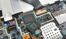 Замена микросхемы FLASH на планшете
